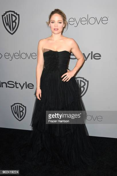 Actor Erika Christensen attends 19th Annual PostGolden Globes Party hosted by Warner Bros Pictures and InStyle at The Beverly Hilton Hotel on January...