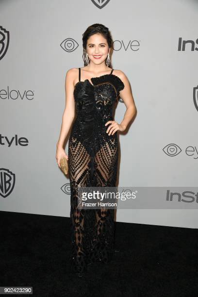 Actor Erin Lim attends 19th Annual PostGolden Globes Party hosted by Warner Bros Pictures and InStyle at The Beverly Hilton Hotel on January 7 2018...
