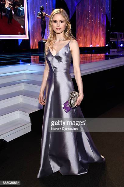 Actor Erin Moriarty attends the 23rd Annual Screen Actors Guild Awards at The Shrine Expo Hall on January 29 2017 in Los Angeles California