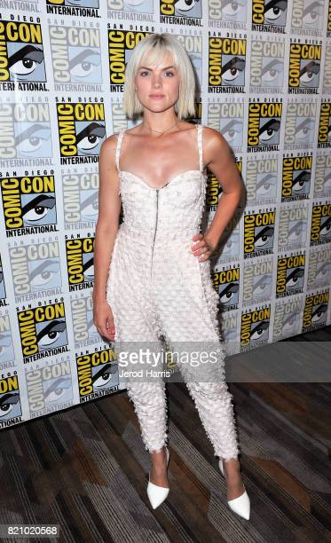 Actor Erin Richards at the 'Gotham' Press Line during ComicCon International 2017 at Hilton Bayfront on July 22 2017 in San Diego California