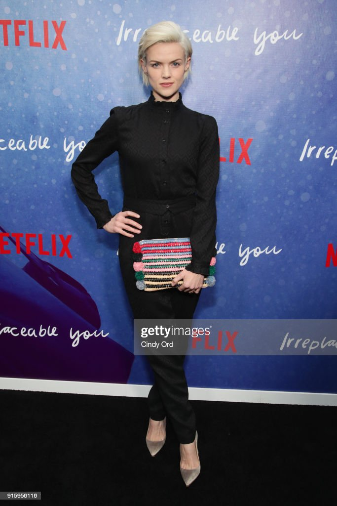 Actor Erin Richards attends the Special Screening of the Netflix Film 'Irreplaceable You' at The Metrograph on February 8, 2018 in New York City.