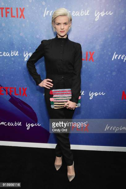 Actor Erin Richards attends the Special Screening of the Netflix Film 'Irreplaceable You' at The Metrograph on February 8 2018 in New York City