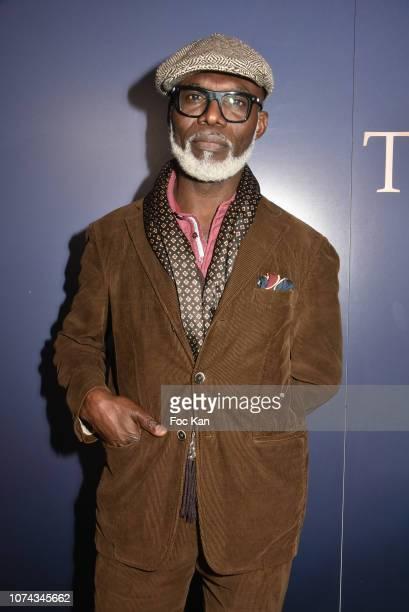 Actor Eriq Ebouaney attends Trilobe Watches Launch Party at Musee des Arts Et on December17 2018 in Paris France