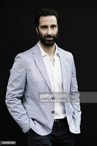Actor Ermin Bravo poses on August 8 2014 in Locarno Switzerland
