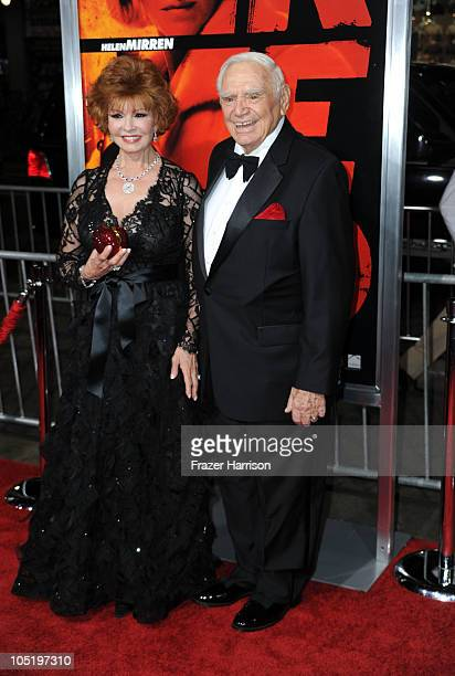 Actor Ernest Borgnine and wife Tova Borgnine arrives at a special screening of Summit Entertainment's 'RED' at Grauman's Chinese Theatre on October...