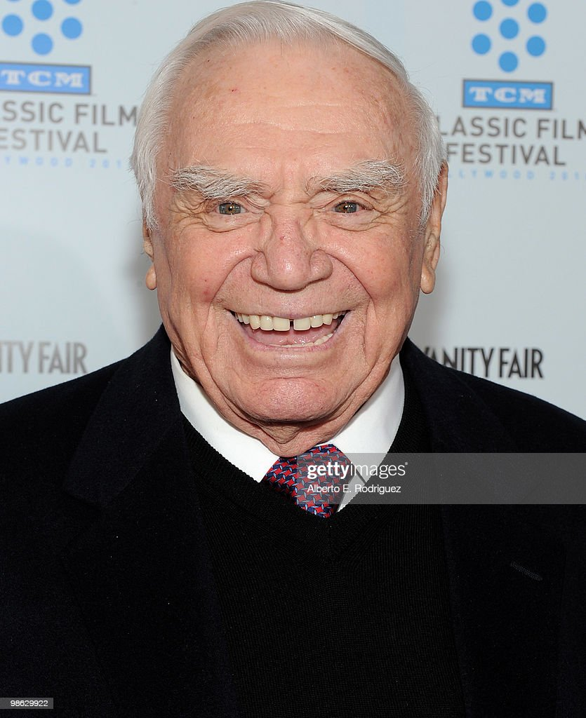 Actor Ernest Borgnine arrives at the TCM Classic Film Festival's gala opening night world premiere of the newly restored film 'A Star Is Born' at Grauman's Chinese Theatre on April 22, 2010 in Hollywood, California.