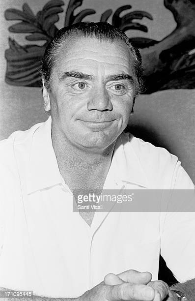 Actor Ernest Borgnine at a press conference on April 151969 in Hamilton Bermuda