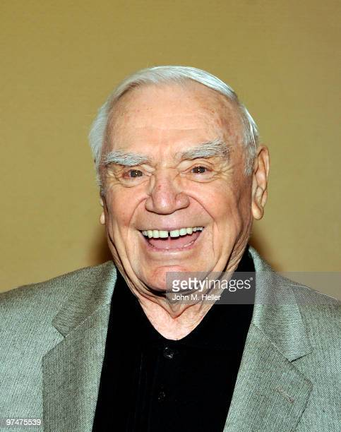 Actor Ernest Borgnine attends the 47th Annual ICG Publicists Awards at the Hyatt Regency Century Plaza on March 5 2010 in Century City California