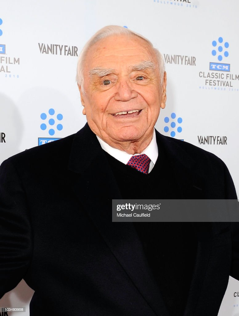 Actor Ernest Borgnine attends the Opening Night Gala of the newly restored 'A Star Is Born' premiere at Grauman's Chinese Theatre on April 22, 2010 in Hollywood, California.