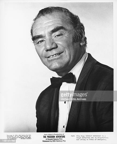 Actor Ernest Borgnine poses for a portrait to promote the 20th centuryFox film 'The Poseidon Adventure' in Los Angeles California