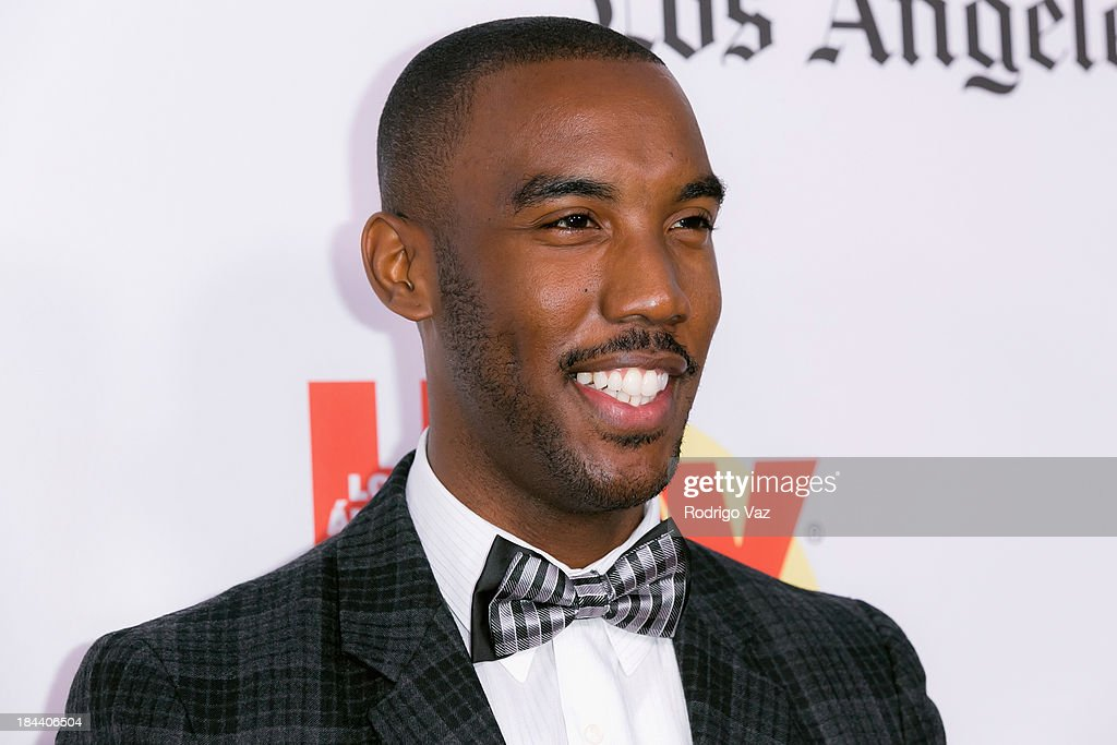 Actor Ernest Pierce arrives at the 2013 Latinos De Hoy Awards at Los Angeles Times Chandler Auditorium on October 12, 2013 in Los Angeles, California.