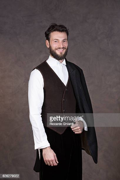 Actor Ernesto D'Argenio is photographed for Self Assignment on November 8, 2016 in Rome, Italy.