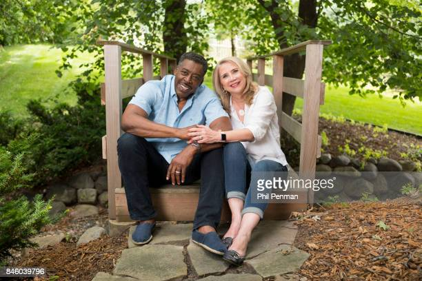 Actor Ernie Hudson and wife Linda Kingsberg are photographed for Closer Weekly Magazine on July 5 2017 at home in Minnesota PUBLISHED IMAGE