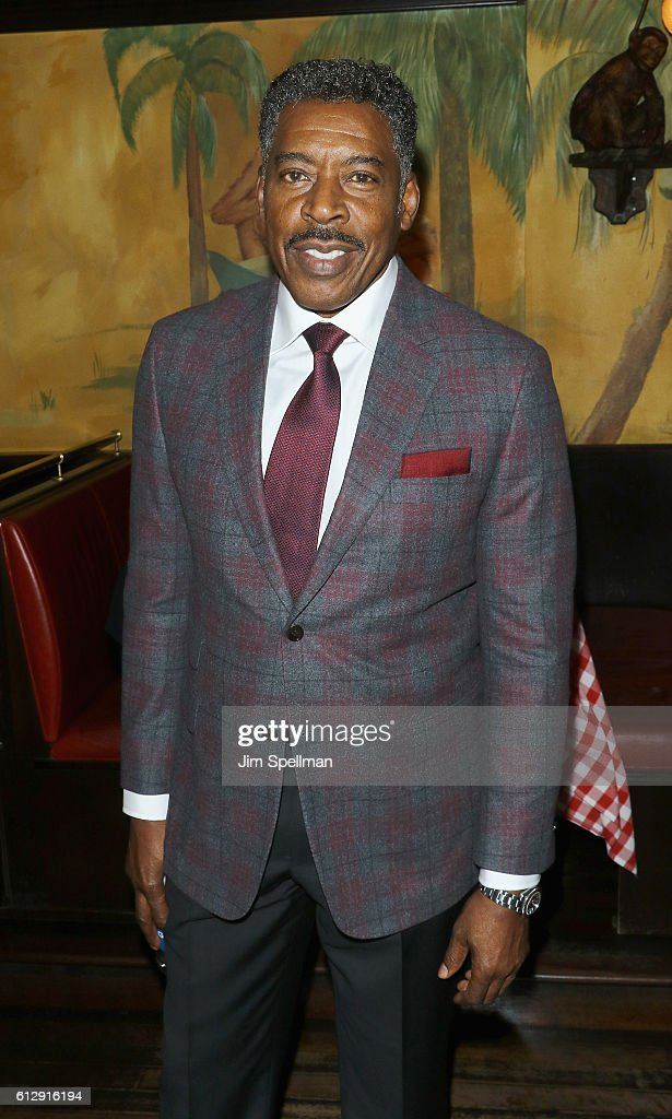 Actor Ernie Hudson attends the premiere after party of the EPIX original series 'Graves' hosted by EPIX and Vanity Fair at The Monkey Bar on October 5, 2016 in New York City.