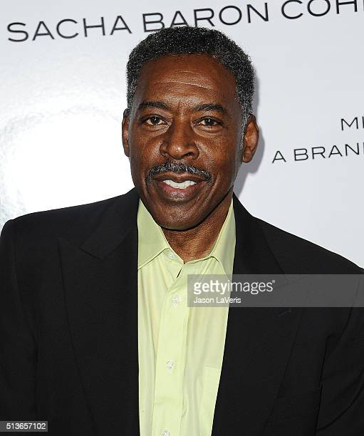Actor Ernie Hudson attends the premiere of 'The Brothers Grimsby' at Regency Village Theatre on March 3 2016 in Westwood California