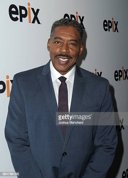 Actor Ernie Hudson of 'Graves' attends the EPIX TCA presentation at The Beverly Hilton Hotel on July 30 2016 in Beverly Hills California