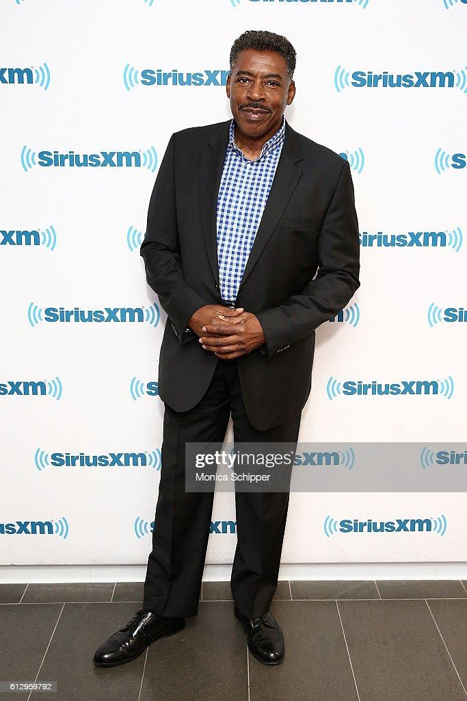 Actor Ernie Hudson visits SiriusXM Studio on October 6, 2016 in New York City.