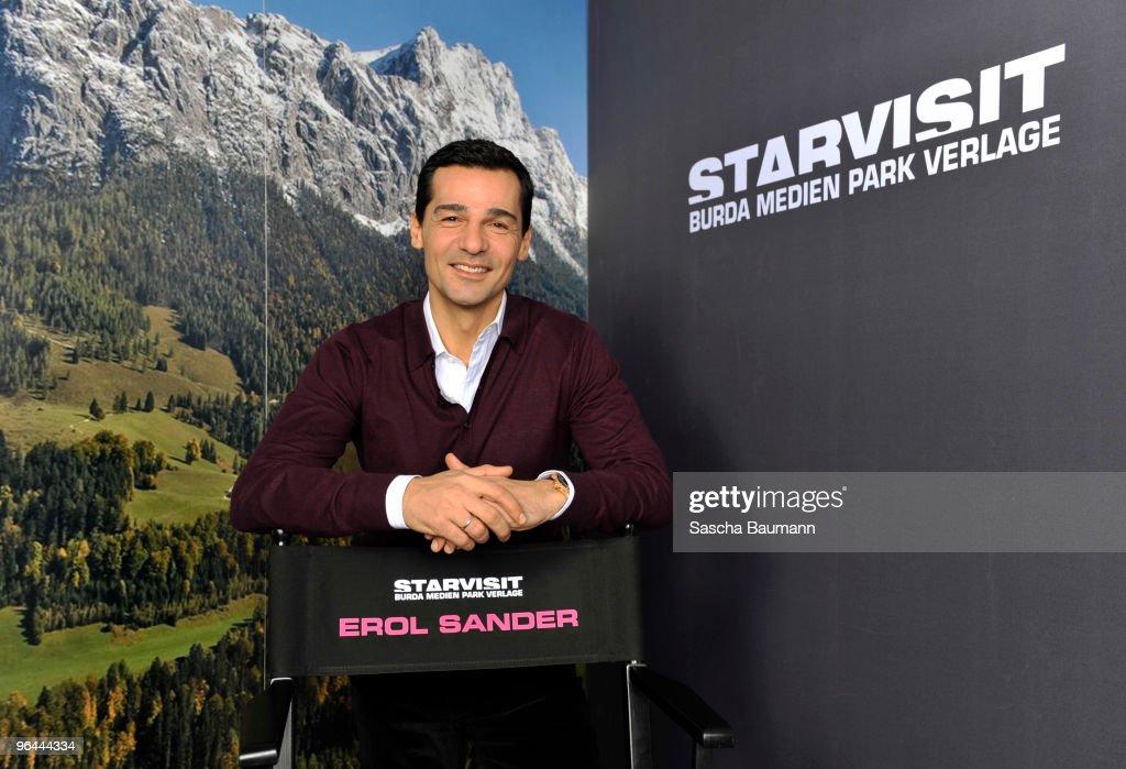Erol Sander STARVISIT at Burda Publishing Group Offenburg : Fotografía de noticias