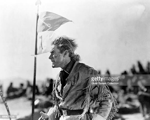 Actor Errol Flynn as George Armstrong Custer in the film 'They Died with Their Boots On' 1941