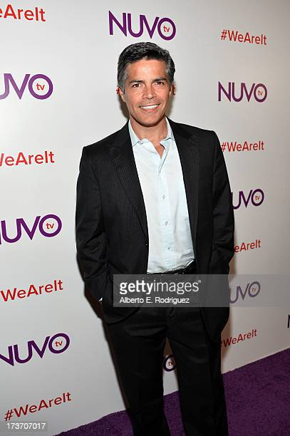 Actor Esai Morales arrives at the NUVOtv Network Launch Party at The London West Hollywood on July 16 2013 in West Hollywood California