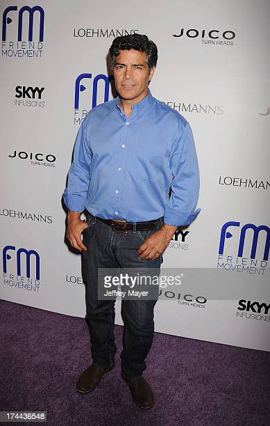 Actor Esai Morales attends the Friend Movement AntiBullying Benefit Concert at the El Rey Theatre on July 1 2013 in Los Angeles California