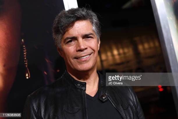 Actor Esai Morales attends the premiere of Columbia Pictures' 'Miss Bala' at Regal LA Live Stadium 14 on January 30 2019 in Los Angeles California