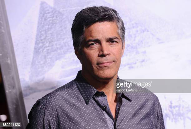 Actor Esai Morales attends the premiere of 'Geostorm' at TCL Chinese Theatre on October 16 2017 in Hollywood California
