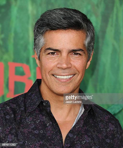Actor Esai Morales attends the premiere of 'Kubo and the Two Strings' at AMC Universal City Walk on August 14 2016 in Universal City California