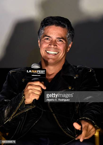 Actor Esai Morales attends the special screening of 'La Bamba' during the 2014 Los Angeles Film Festival at Union Station on June 13 2014 in Los...