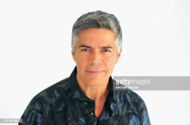 Actor Esai Morales attends Visual Snow Initiative Visits TAP The Artists Project on August 22 2018 in Los Angeles California