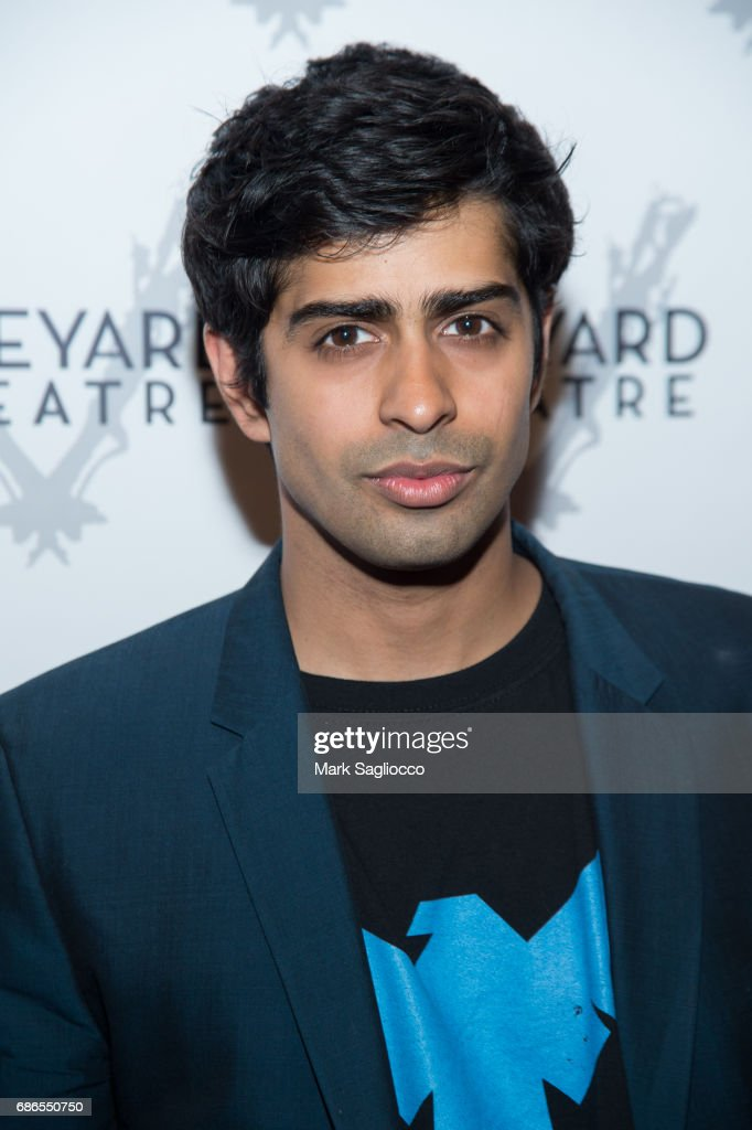 Actor Eshan Bay attends the 'Can You Forgive Her?' Opening Night at the Vineyard Theatre on May 21, 2017 in New York City.