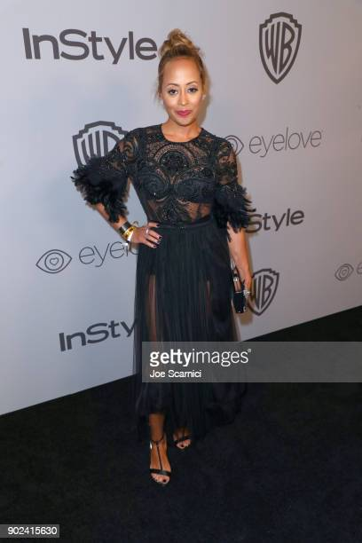 Actor Essence Atkins attends the 2018 InStyle and Warner Bros 75th Annual Golden Globe Awards PostParty at The Beverly Hilton Hotel on January 7 2018...