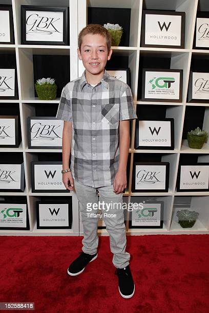 Actor Ethan Cutkosky attends the GBK Productions Luxury Lounge During Emmy's Weekend at W Hollywood on September 22 2012 in Hollywood California