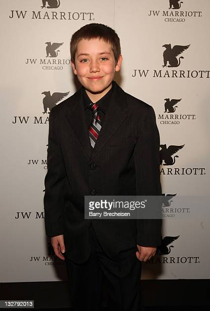 Actor Ethan Cutkosky attends the Grand Opening of the JW Marriott Chicago at JW Marriott Chicago on March 7 2011 in Chicago Illinois