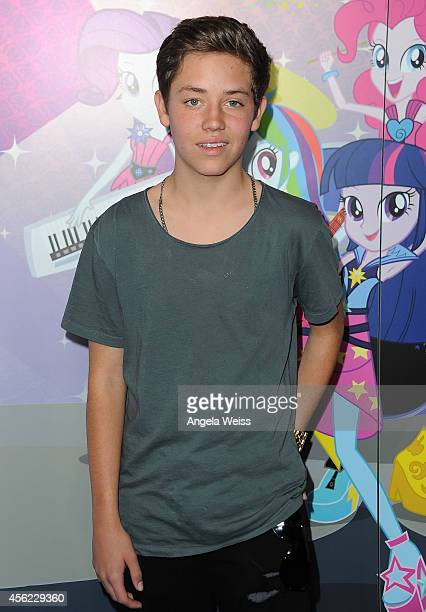 Actor Ethan Cutkosky attends the premiere of Hasbro Studios' 'My Little Pony Equestria Girls Rainbow Rocks' at TCL Chinese 6 Theatres on September 27...