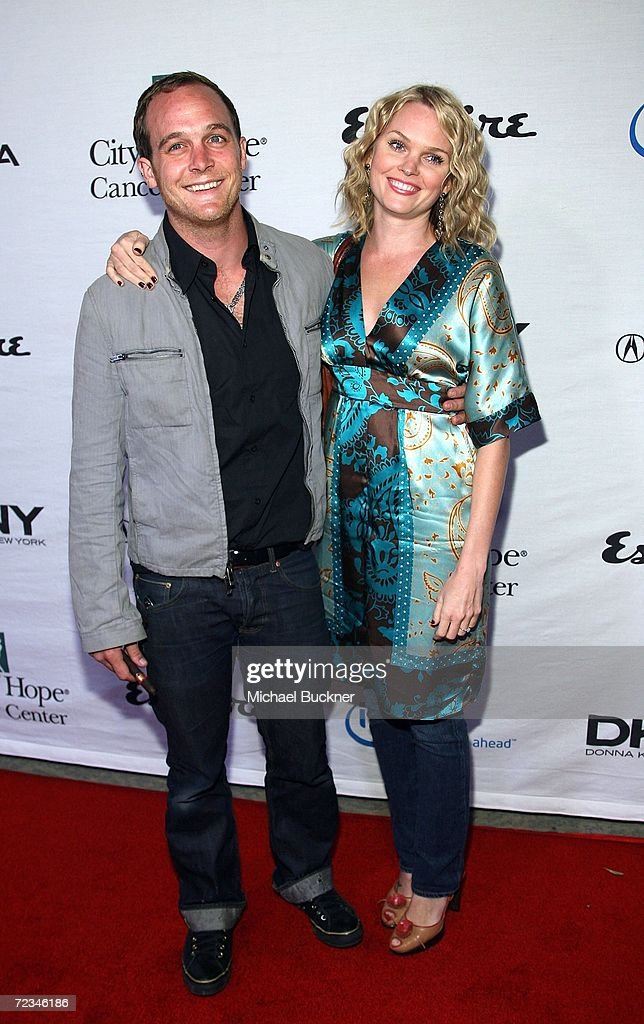 Actor Ethan Embry And Wife Sunny Mabrey Arrive At The