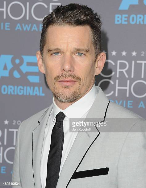 Actor Ethan Hawke arrives at the 20th Annual Critics' Choice Movie Awards at Hollywood Palladium on January 15 2015 in Los Angeles California