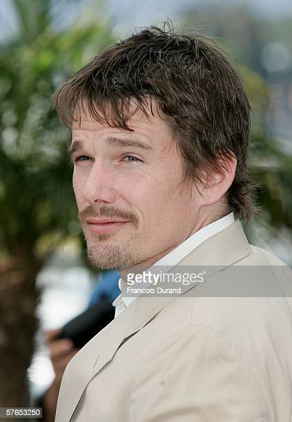 Actor Ethan Hawke attends a photocall promoting the film 'Fast Food Nation' at the Palais during the 59th International Cannes Film Festival May 19...