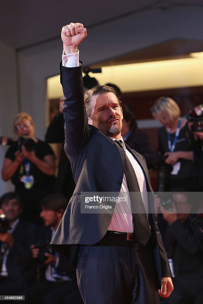 Actor Ethan Hawke attends 'Good Kill' Premiere during the 71st Venice Film Festival on September 5, 2014 in Venice, Italy.
