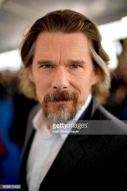 Actor Ethan Hawke attends the 2018 Film Independent Spirit Awards on March 3 2018 in Santa Monica California