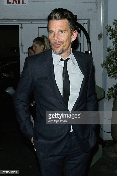 Actor Ethan Hawke attends the after party for the screening of Sony Pictures Classics' Maggie's Plan hosted by Montblanc and The Cinema Society with...