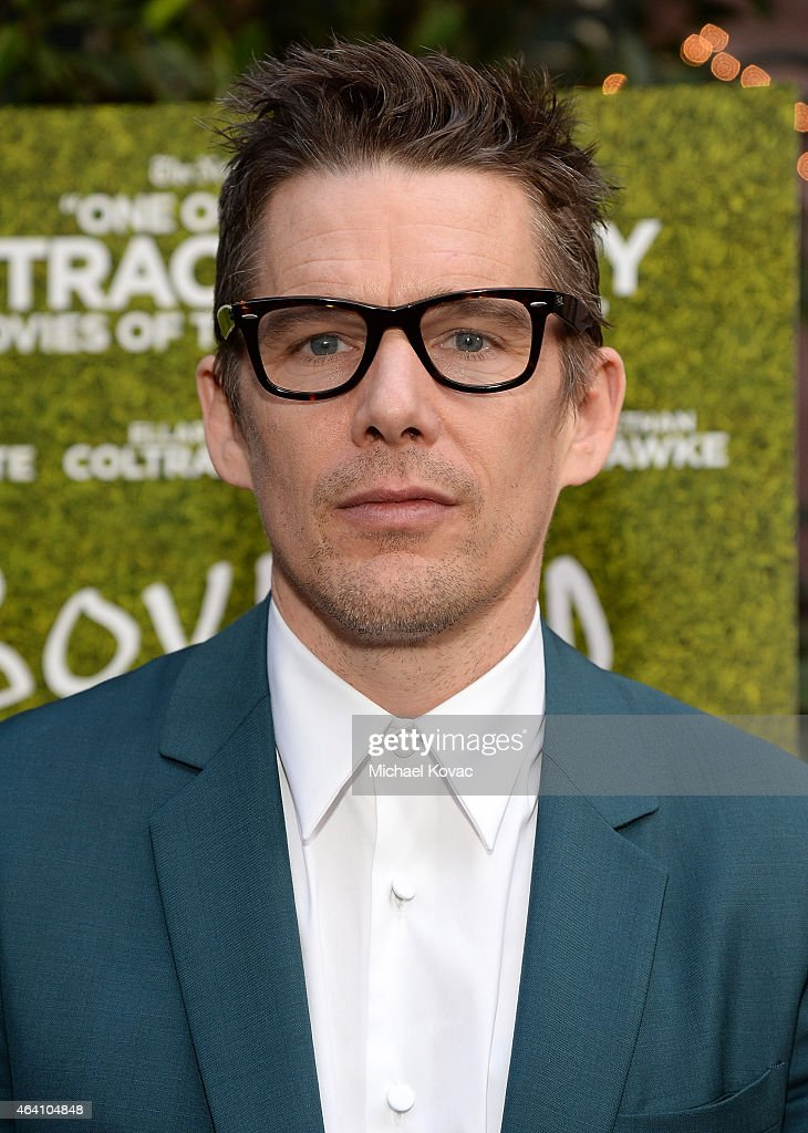 Actor Ethan Hawke attends the AMC Networks and IFC Films Spirit Awards After Party on February 21, 2015 in Santa Monica, California.
