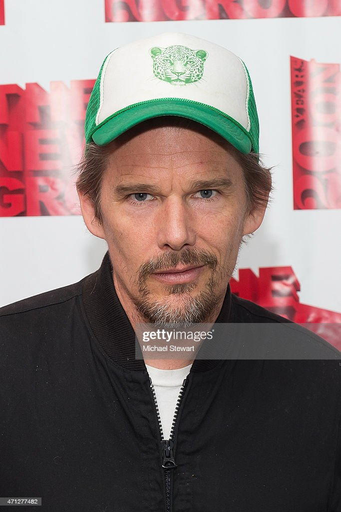 Actor Ethan Hawke attends the 'Hurlyburly' Benefit Reading at Alice Griffin Jewel Box Theatre on April 26, 2015 in New York City.