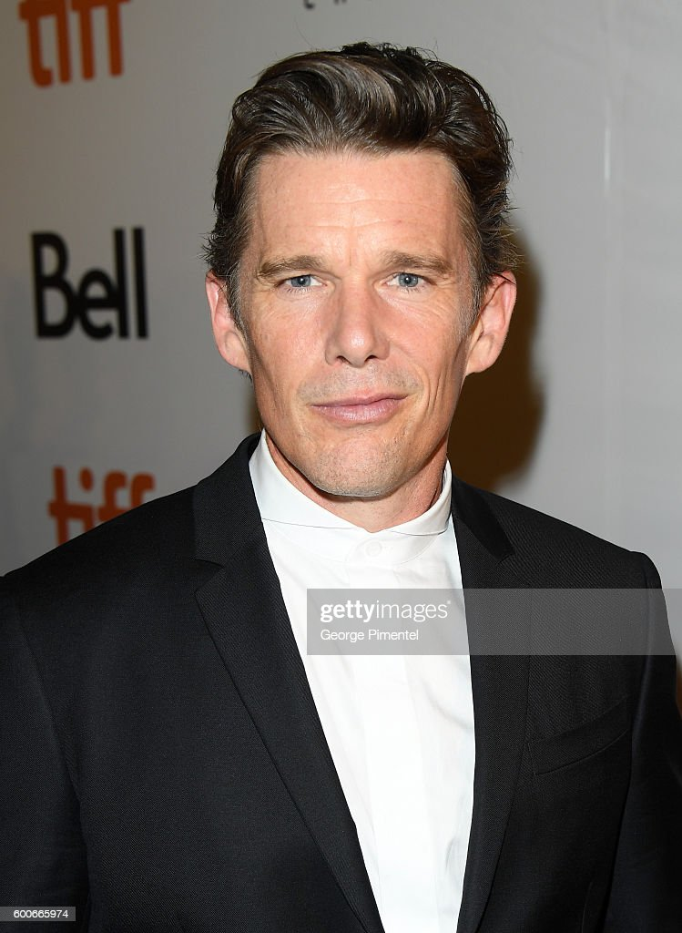 Actor Ethan Hawke attends 'The Magnificent Seven' premiere during the 2016 Toronto International Film Festival at Roy Thomson Hall on September 8, 2016 in Toronto, Canada.