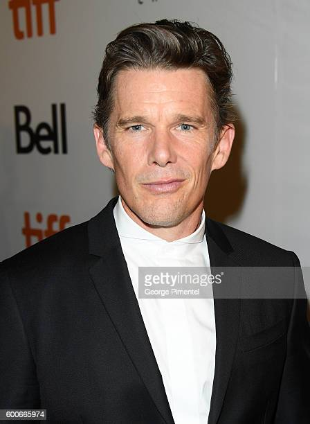 Actor Ethan Hawke attends The Magnificent Seven premiere during the 2016 Toronto International Film Festival at Roy Thomson Hall on September 8 2016...