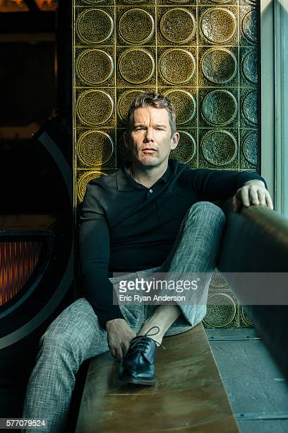 Actor Ethan Hawke is photographed for Brooklyn Magazine on January 26 2016 in New York City