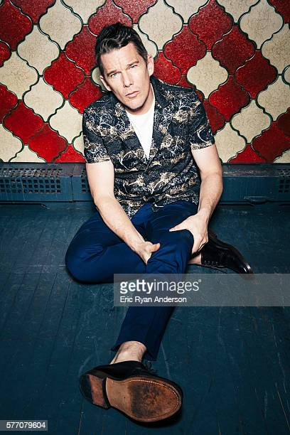 Actor Ethan Hawke is photographed for Brooklyn Magazine on January 26 2016 in New York City COVER IMAGE