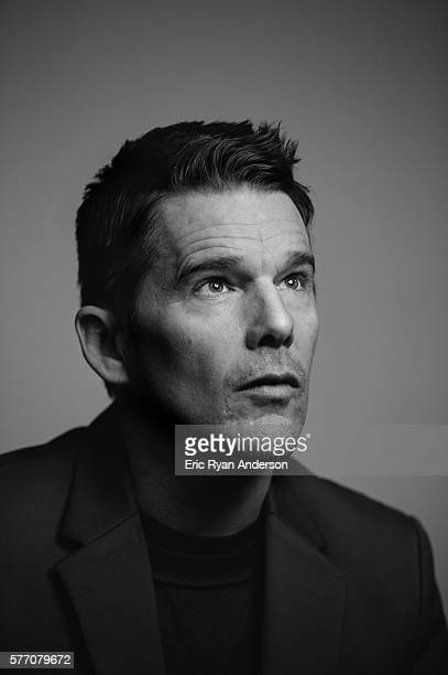 Actor Ethan Hawke is photographed for Brooklyn Magazine on January 26 2016 in New York City PUBLISHED IMAGE