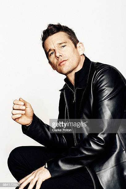 Actor Ethan Hawke is photographed for DuJour Magazine on February 24 2016 in New York City PUBLISHED IMAGE