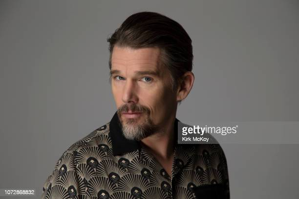 Actor Ethan Hawke is photographed for Los Angeles Times on November 17 2018 in Bel Air California PUBLISHED IMAGE CREDIT MUST READ Kirk McKoy/Los...